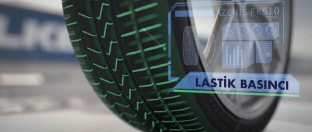 Technologie qui détecte l'usure des pneus de l'industrie du caoutchouc sumitomo