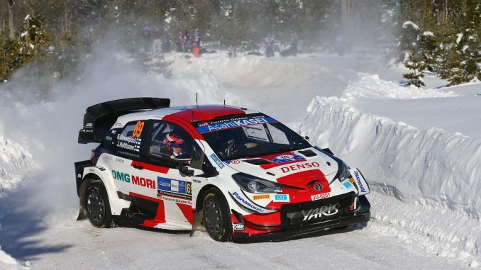 toyota gazoo racing continues to lead the championship