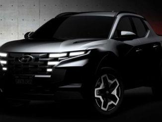 Hyundai jagab Santa Cruzi mudeli esimesi jooniseid