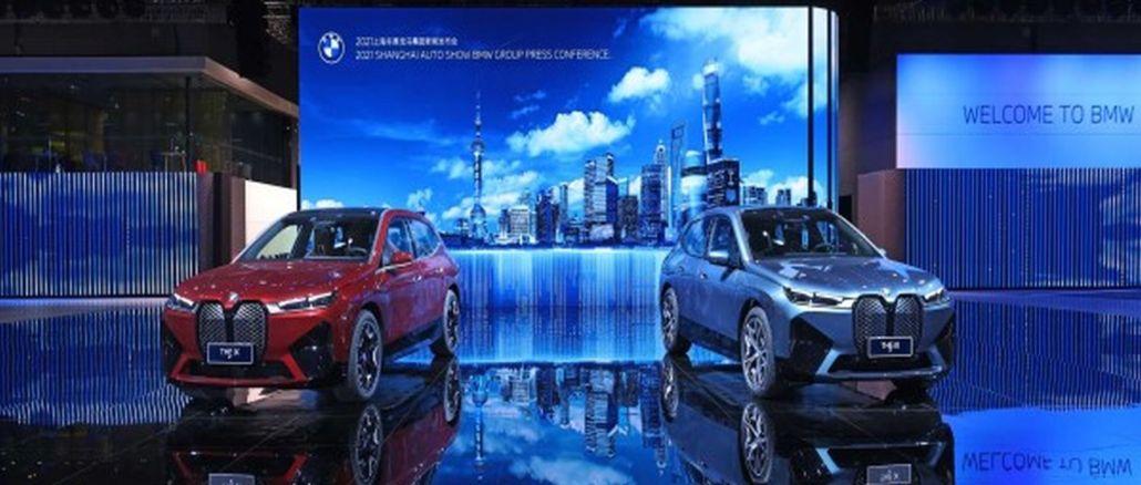 Le case automobilistiche tedesche sono decollate al salone dell'auto di Shanghai