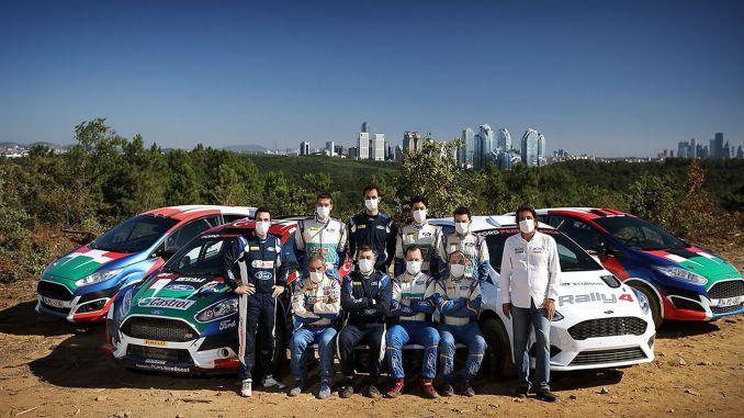 Castrol-Ford rally team ready turkey basement Price