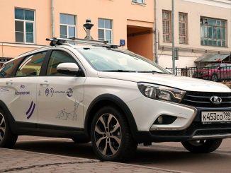 rusyanin surucusuz yerli otomobili moskovada bir hastanede kullanilmaya baslandi