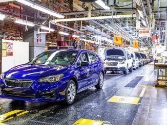 Subaru peatas ajutiselt džiibikriisi tõttu tootmise