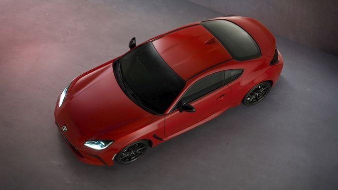 Toyota sports car introduced new gr