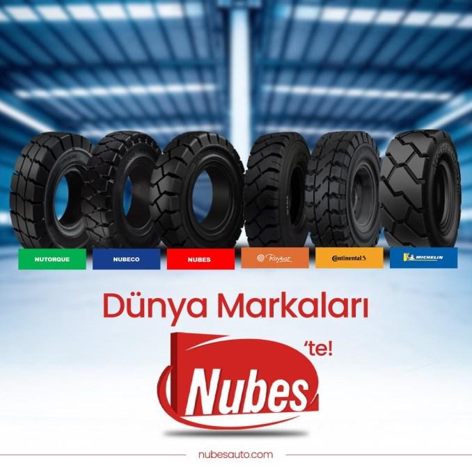 Forklift Tubeless Tires