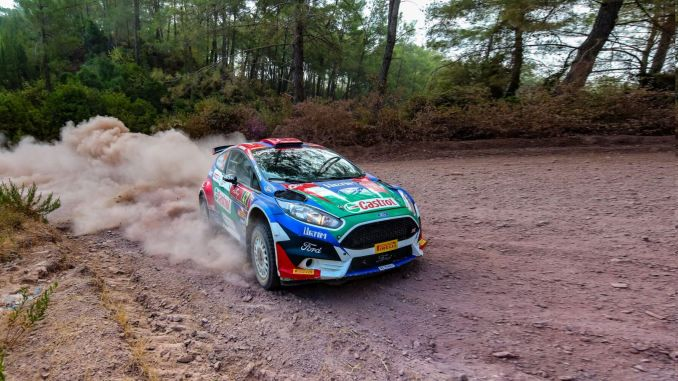 castrol ford team completed preparations for rally turkey bulgaria