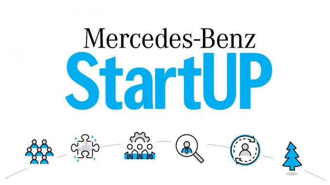 mercedes benz startup applications are completed