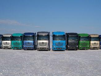 מרצדס בנץ טורק ממשיכה לתמוך בנהגי משאיות