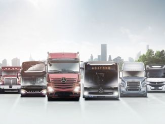 משאית דיימלר מכריזה על יעדיה העתידיים כחברה עצמאית