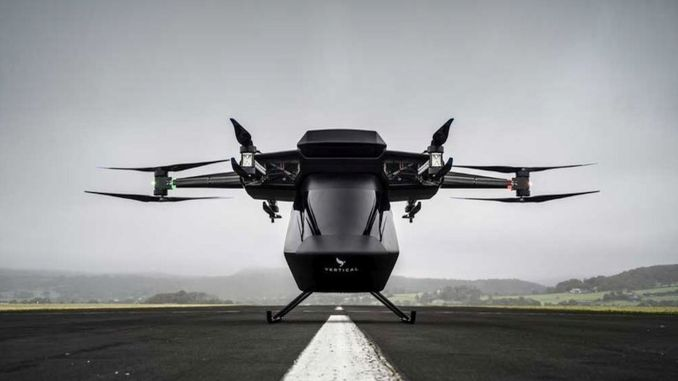 Huge investment in electric flying taxi manufacturer