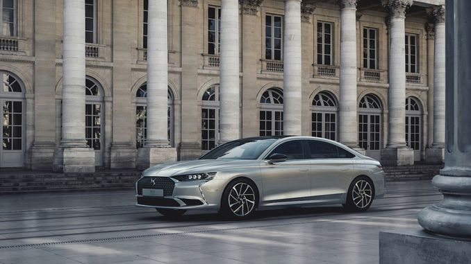 the new sedan of french luxury ds is on the roads of turkey in september