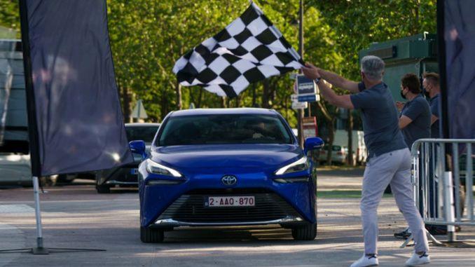 световен рекорд от Toyota Mirai с водородно гориво