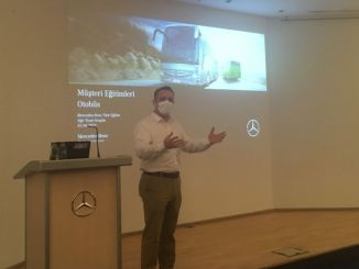mercedes benz turk bus driver training continues without slowing down