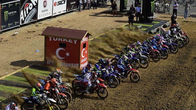 the stars of motocross are in turkey in september