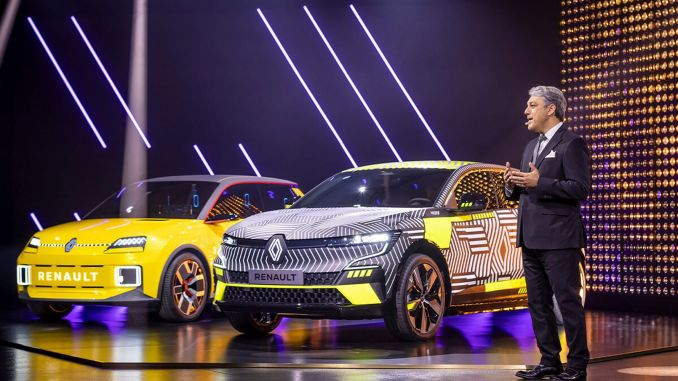 Electric vehicles are coming from the Renault group