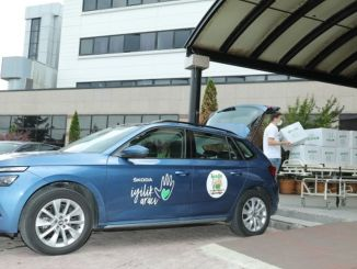 skoda charity car at the service of children with cancer