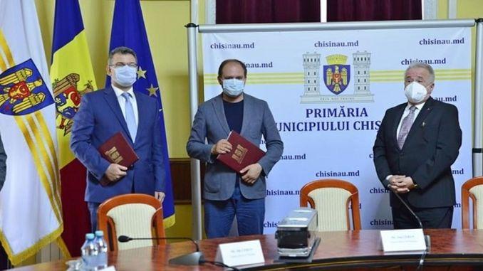 Anadolu Isuzu signed the tender for the bus of Kininevin in moldova