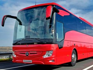 mercedes benz turk maintained its leadership in the intercity bus market in the first month