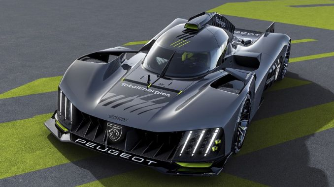 new peugeot x le mans hypercar designed for top class racing