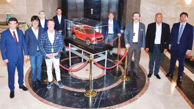 domestic automobile togga ankarada technology center
