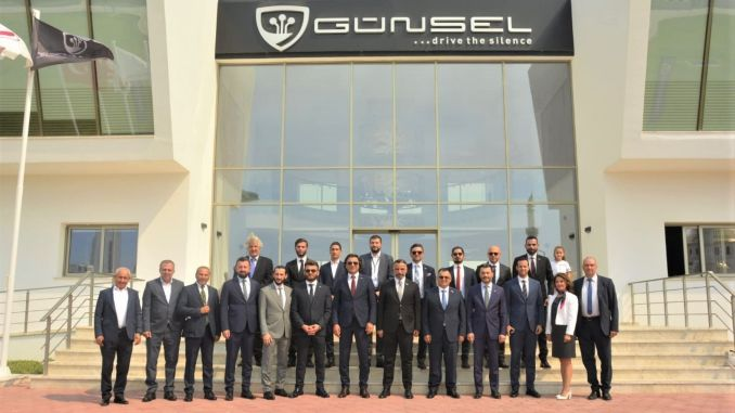 Askon and Giad members tested the domestic automobile gun in the TRNC
