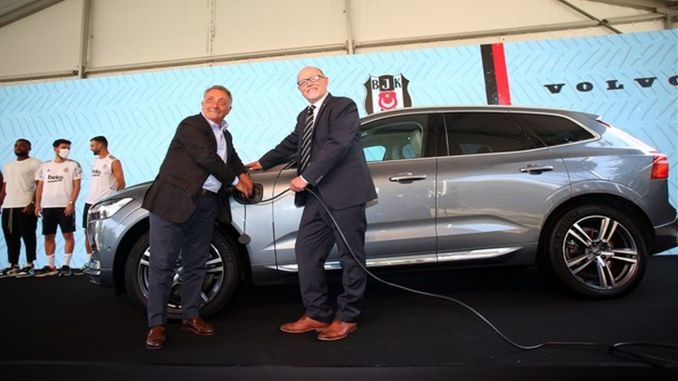 besiktas jk and volvo car turkey meet for a sustainable future