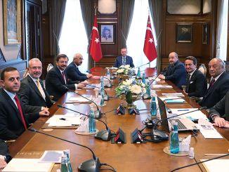 predsjednik Erdogan togg susreo se s članovima upravnog odbora