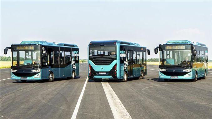 Million Euro electric bus export from Karsan to Romania