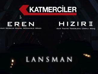 Katmerci의 새로운 장갑차 eren과 hizir는 목표물에 처음으로 도입됩니다.