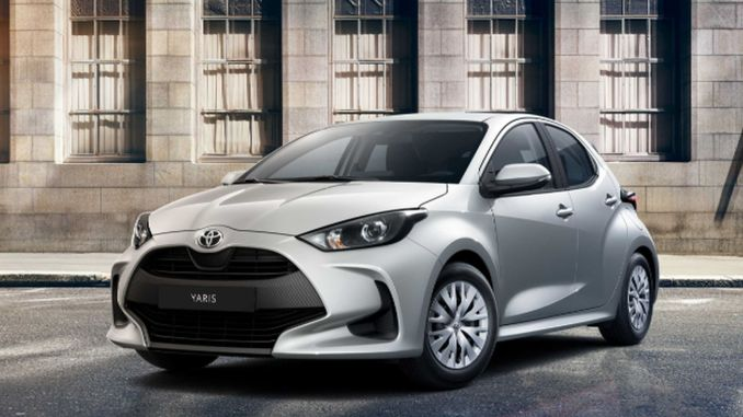 toyota yaris was introduced to the market with competitive price advantage