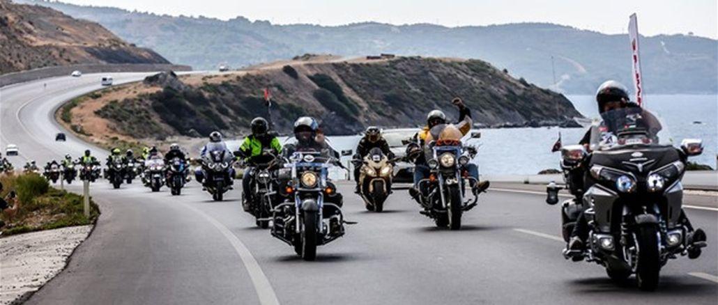 počeo fim mototour of Turkey turkey