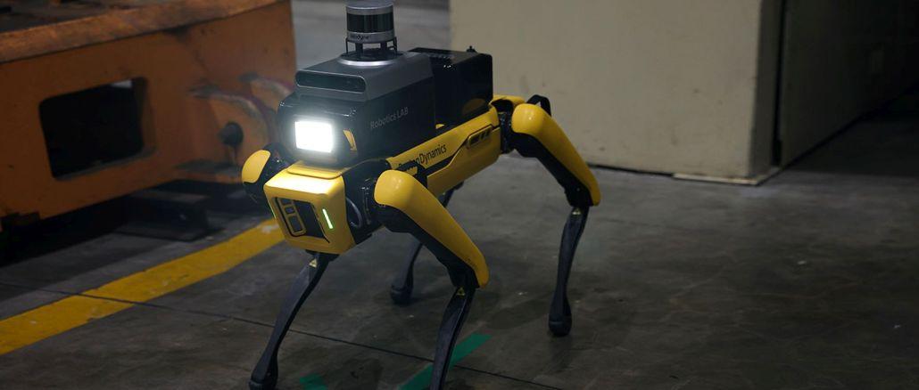 hyundai boston dynamics ile guvenlik robotu uretti