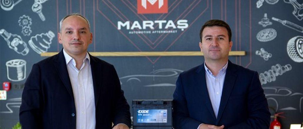 martas automotive postao je službeni distributer puretine svjetskog giganta exide