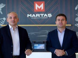 martas automotive blev den officiella kalkondistributören för världens jätteexide