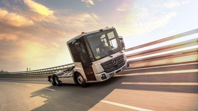"""Mercedes Benz eeconic"" pereina prie masinės gamybos"