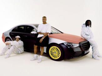 turvapadja kontseptsiooni disainikollektsioon Mercedes Benzilt ja Heron Prestonilt