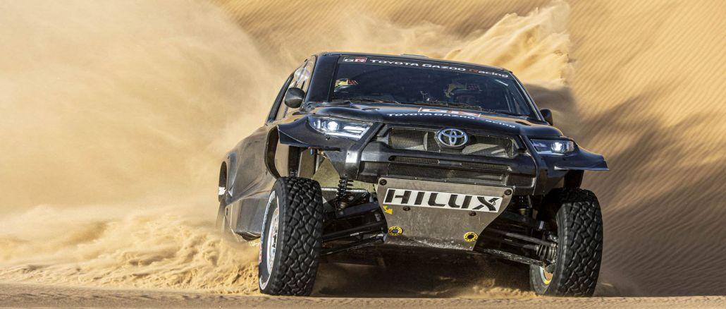 toyota gazoo racing takmičiće se sa svoja četiri vozila na reliju u Dakaru