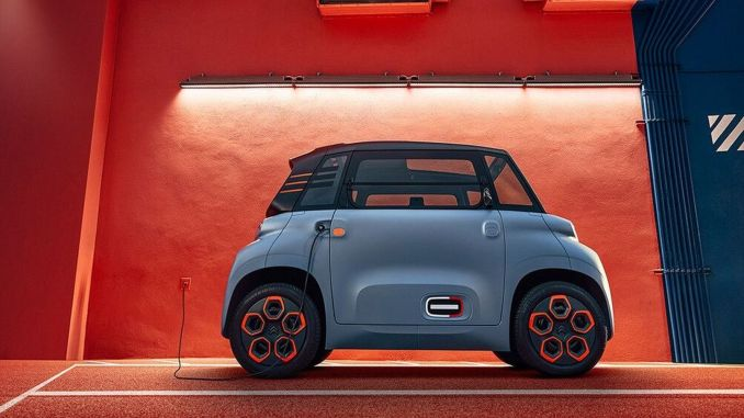 citroen ami offers the opportunity to travel freely in high-traffic cities