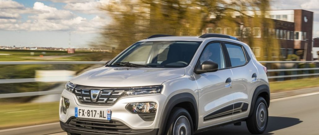 dacia spring auto became the finalist of the best