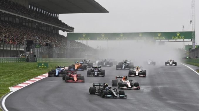 A thousand people a day came to the intercity istanbul park for formula