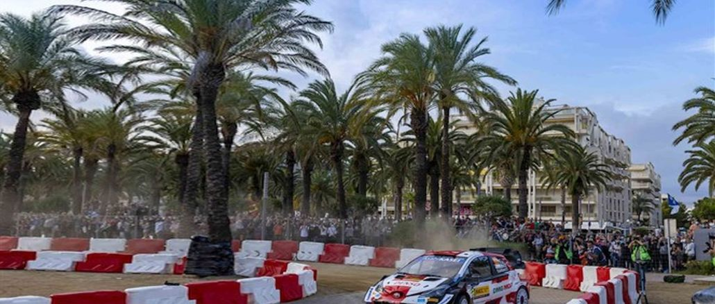 toyota gazoo racing maintained its position at the top with the podium of the rally of spain