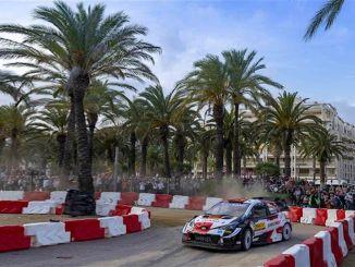 丰田加祖赛车凭借西班牙拉力赛的领奖台保持领先地位