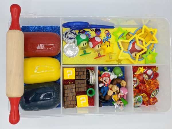 Super Mario Play-dough Kit