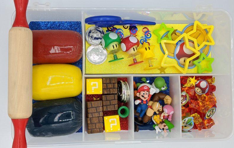 Super Mario Play-dough Kit