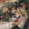 """<p>""""Luncheon of the Boating Party"""" painted in 1881 by Pierre-Auguste Renoir</p>"""