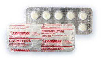 Как принимать левомицетин при кишечной инфекции
