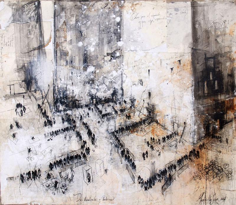Resultado de imagen para burocracia pintura abstracta