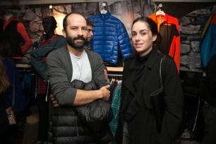 Erick Vigoroux y Claudia Illanes