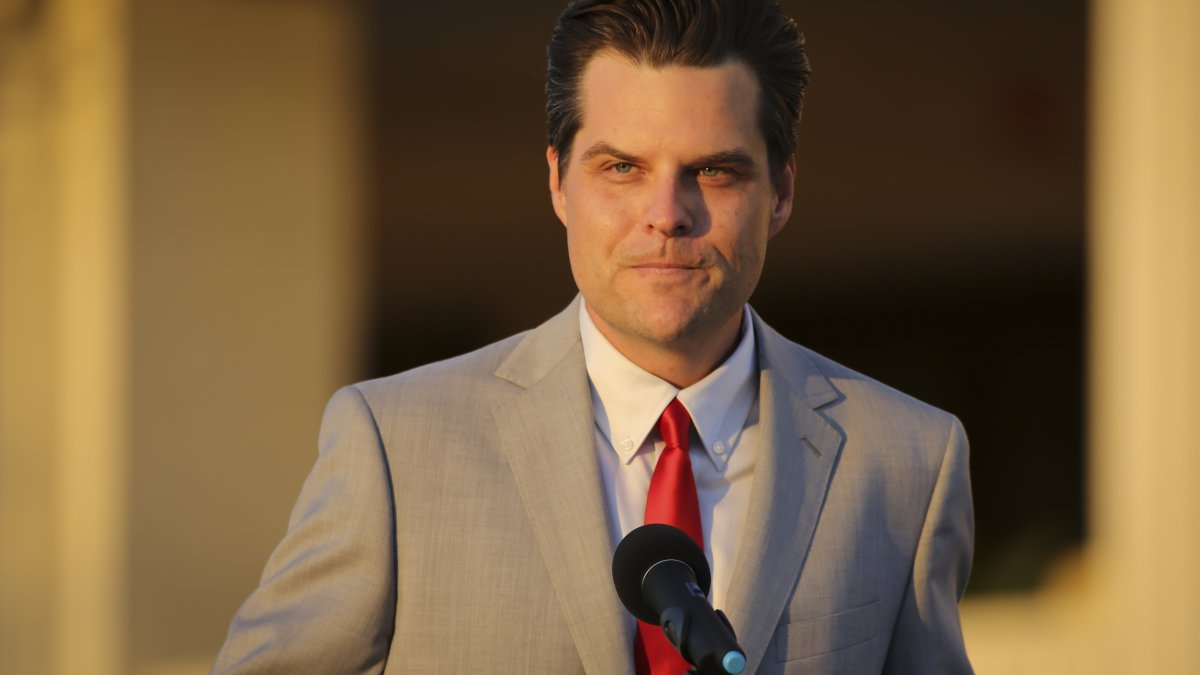 Matt Gaetz Using Donors' Dollars on Legal Bills as Feds Investigate Possible Sex Trafficking