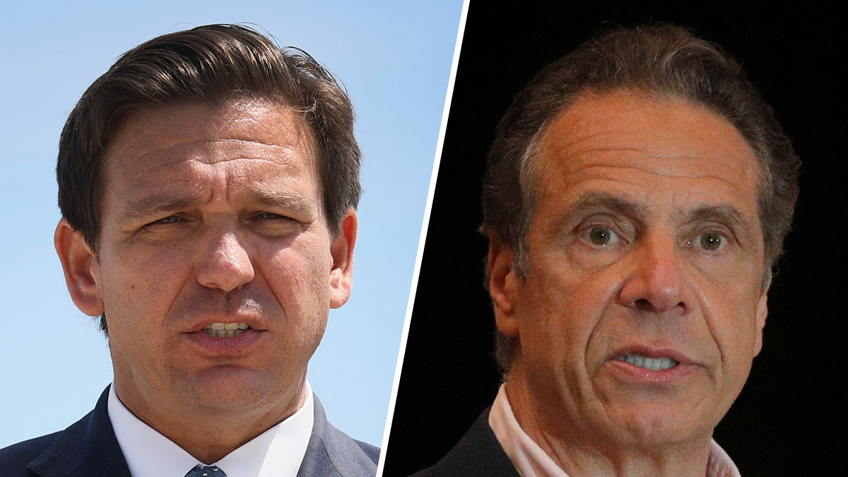 Why Are Cuomo, DeSantis, Abbott and Newsom Approval Ratings so Similar?